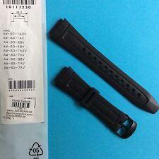 Casio banda LW Strap uhrband relojes pulsera aw-80 y aw-82 negro