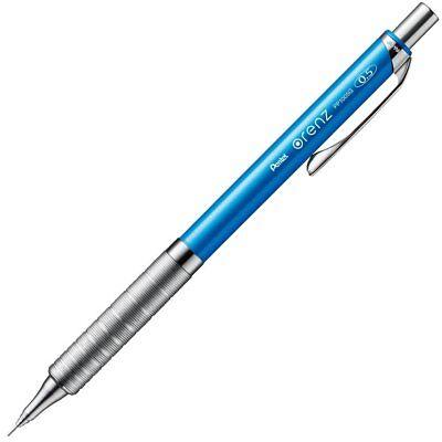 Pentel Orenz Metal Grip Type Mechanical Pencils 0.5mm Sky Blue XPP1005G-S