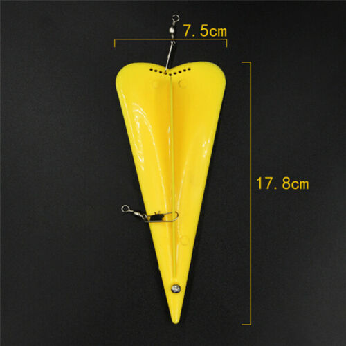Adjustable Boat Sea Fishing Trolling Diver Diving Board with Lead Sinker 53g ZP