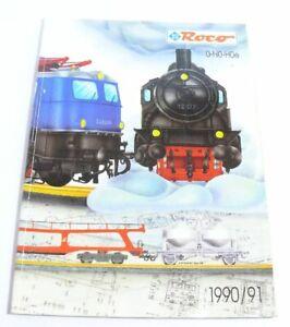 Catalogue Roco 0 H0 H0e De 1990/1991-afficher Le Titre D'origine