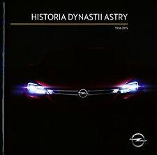 Opel Astra Kadett Geschichte 2015 Broschüre Buch brochure hardcover book selten
