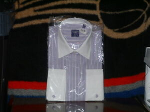 New-in-Package-Modena-Size-16-36-37-100-Cotton-Dress-Shirt