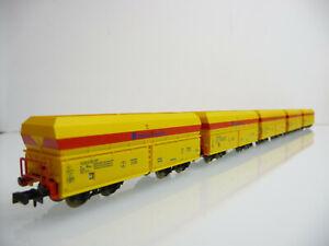 Minitrix-N-aus-15240-5-teiliger-Selbstentladewagen-Zug-EISENBAHN-UND-HAFEN-GMBH