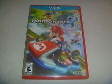 Super Mario Kart Cart 8 (2014) Nintendo Wii U Wiiu Game Complete Good Condition