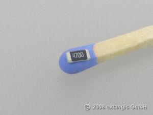 50x SMD 1206 470 0,25 Watt 1%Metallschicht  Präzison Widerstand resistividad ohm