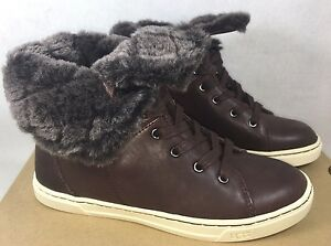 Ugg Australia Croft Luxe Quilt Espresso Brown Leather