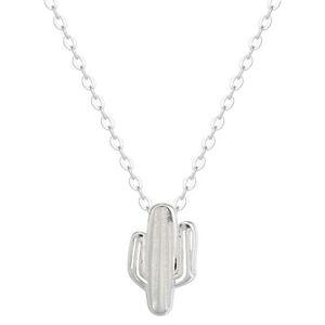 925-Silver-Cactus-Necklaces-amp-Pendants-For-Women-Lady-Satatement-Necklace-Bijoux
