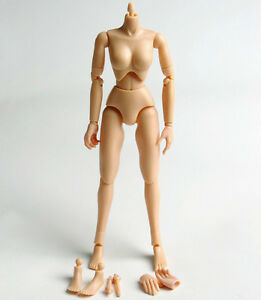 1-6-Female-Hot-Woman-Small-Bust-Breast-12-039-039-Action-Figure-Body-L1-0A-Toys