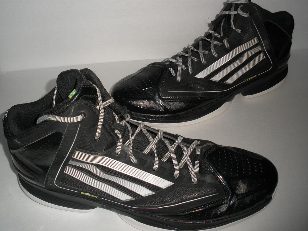 ADIDAS SPRINT WEB ADIZERO noir  BASKETBALL chaussures US 17 EUR 52  RARE HOT