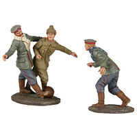 W Britain 23088 A Friendly Game 1914 Christmas Truce Soccer Set No 2 Toy Soldier on sale