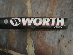 Details about EUC Worth 3DX Softball Bat 34/29 Adult Slowpitch Composite  Shell Aluminum Shaft