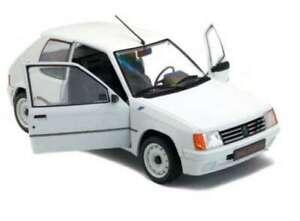 SOLIDO-1801701-PEUGEOT-205-RALLYE-Mk-1-diecast-model-road-car-white-1988-1-18th