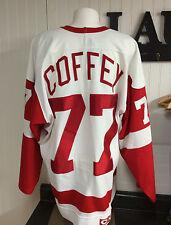 Vintage Paul Coffey Red Wings Jersey size 48