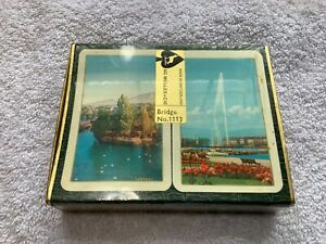 Muller-amp-Cie-Unopened-vintage-double-deck-of-playing-cards-Switzerland-Bridge