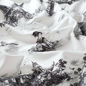 """""""substances Design!"""" Amazing Garden Tissu Au Mètre Noir Coton Chine Chivasso-amazing Garden Stoff Meterware Schwarz Baumwolle China Chivasso Fr-fr Afficher Le Titre D'origine"""