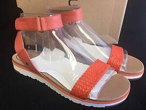 1249d1edd77 Details about Ugg Australia Laddie Women's Ankle Strap Fire Opal Sandal  1015669 sizes shoes