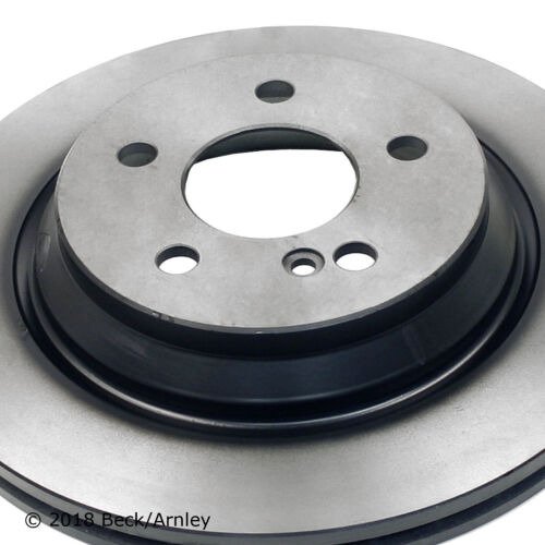Disc Brake Rotor Rear Beck//Arnley 083-3301