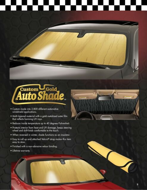 G-TE-03 Gold Custom Auto Windshield Sun Shade for Tesla Model 3 2018-2019