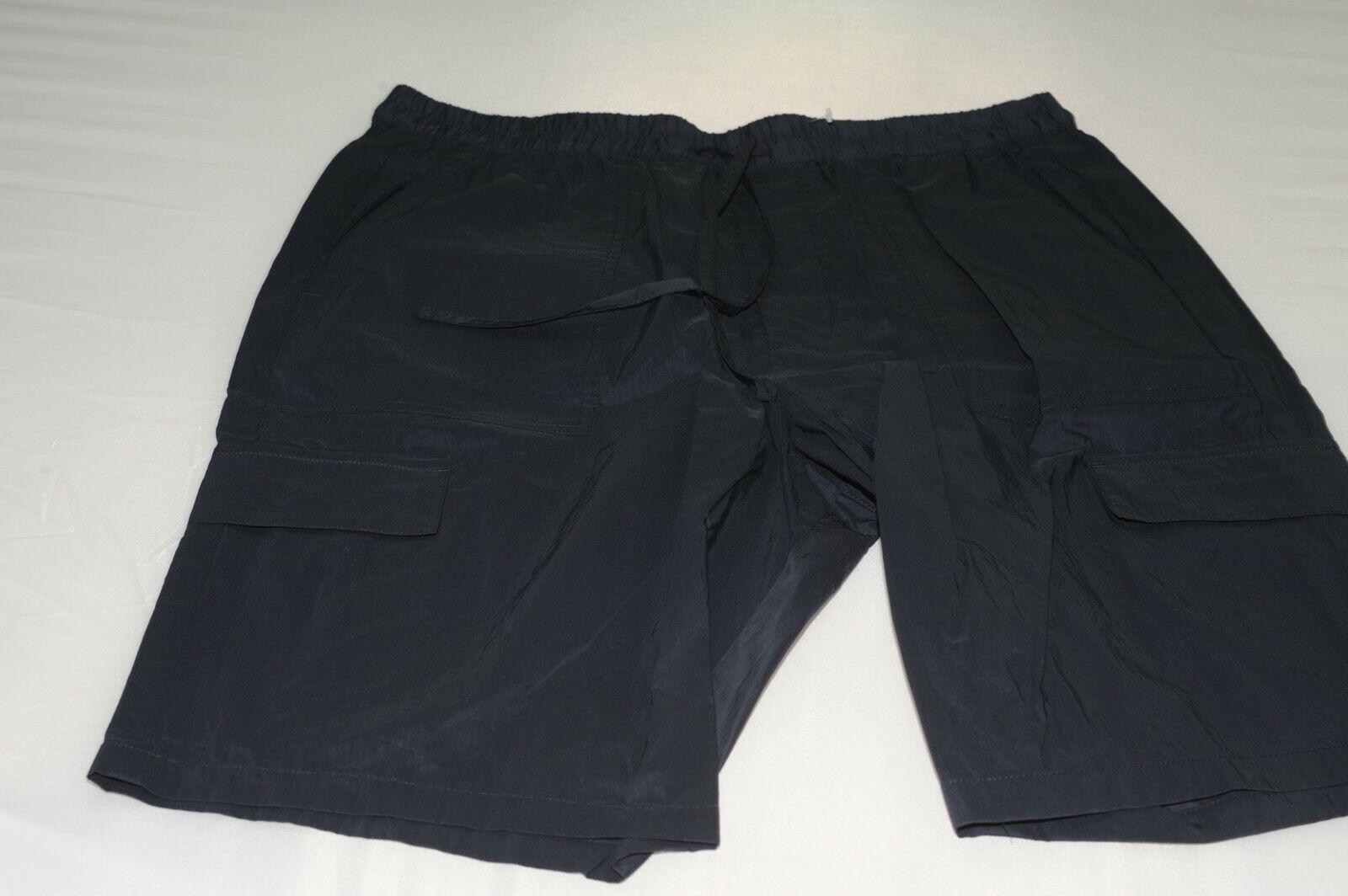 NWOT Vince Men's Flat Front Dry Fit Cargo Shorts Size L .