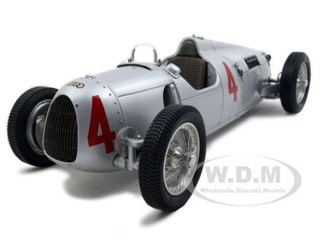 Box Dented 1936-1937 AUTO UNION TYPE C #4 LTD ED 5000PC 1/18 BY CMC 073