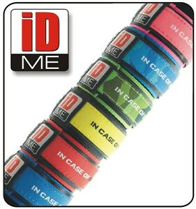 3-x-Kids-Safety-ID-Wristband-Medical-Alert-Bracelet-Allergies