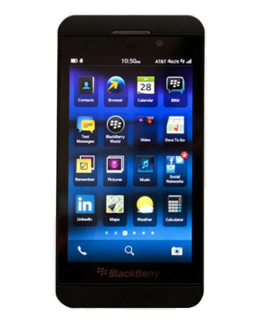 Android Phone - Blackberry Z10 - 16GB Black (Verizon + GSM Unlocked) Smartphone STL100-4 - New