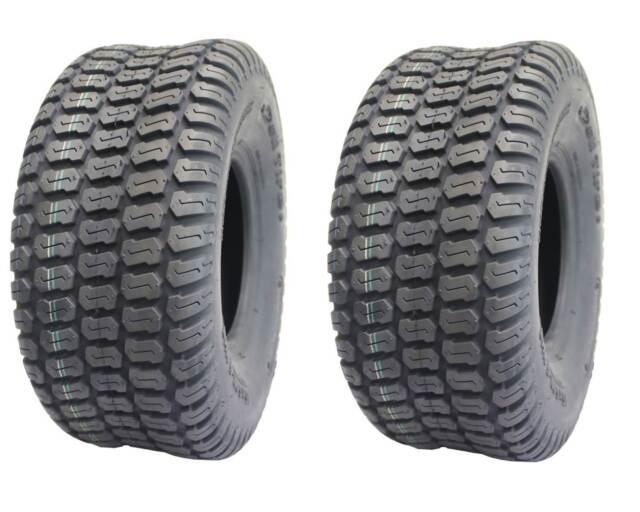 Tubeless Tiller Trencher Lug Tires Set of 2 4 Ply Deli 16x6.50-8 Snow Blower