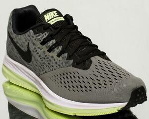 a4403065911 Nike Zoom Winflo 4 men running run sneakers NEW dark stucco sequoia ...