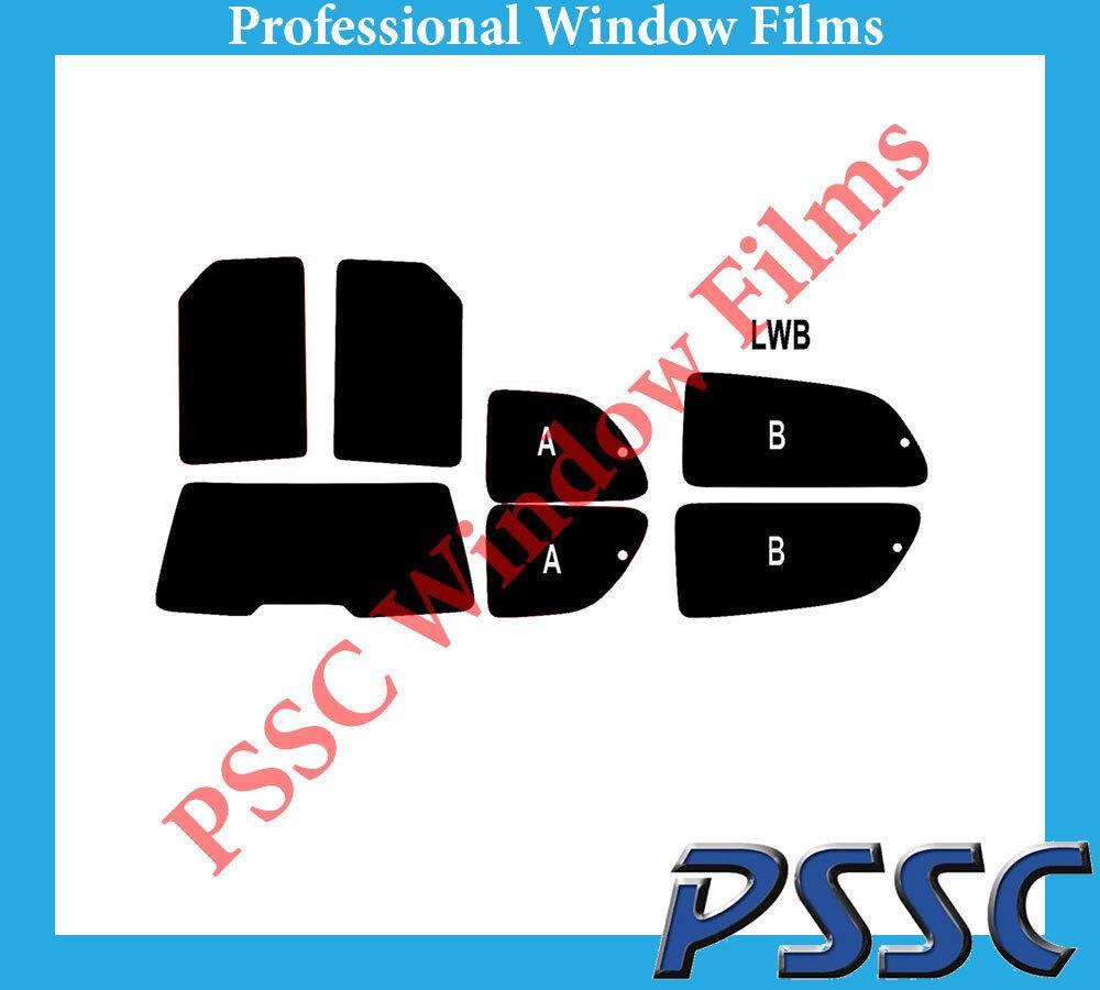 PSSC Pre Cut Rear Car Window Films - Chrysler Voyager MPV 1996 to 2001