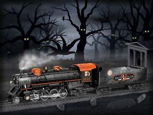 Lionel-6-83606-HALLOWEEN-LIONCHIEF-PLUS-MIKADO-Steam-Locomotive-Engine-Train