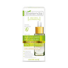 BIELENDA skin clinic professional SUPER POWER MEZO SERUM active corrective face