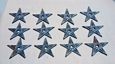 10 SMALL Cast Iron HORSESHOE Texas Lone Star Rustic Ranch HORSE SHOE