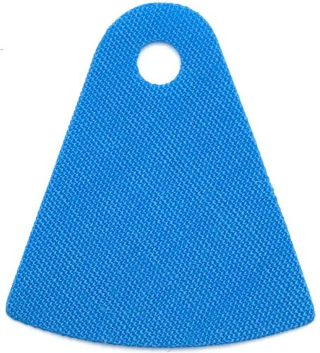 Lego New Dark Azure Mini Doll Cape Cloth Friends Tapered with Curved Bottom