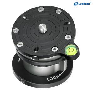 Leofoto-LB-75-Leveling-Base-Tripod-Head-Load-55lb-Compatible-RRS-Arca-Swiss