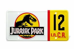 Jurassic-Park-Replik-1-1-Dennis-Nedry-Nummernschild-Doctor-Collector