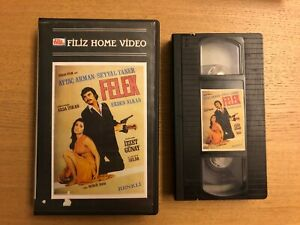 FELEK-VHS-RARE-TURKISH-RELASE-FILIZ-VIDEO-AYTAC-ARMAN-NO-CUNEYT-ARKIN