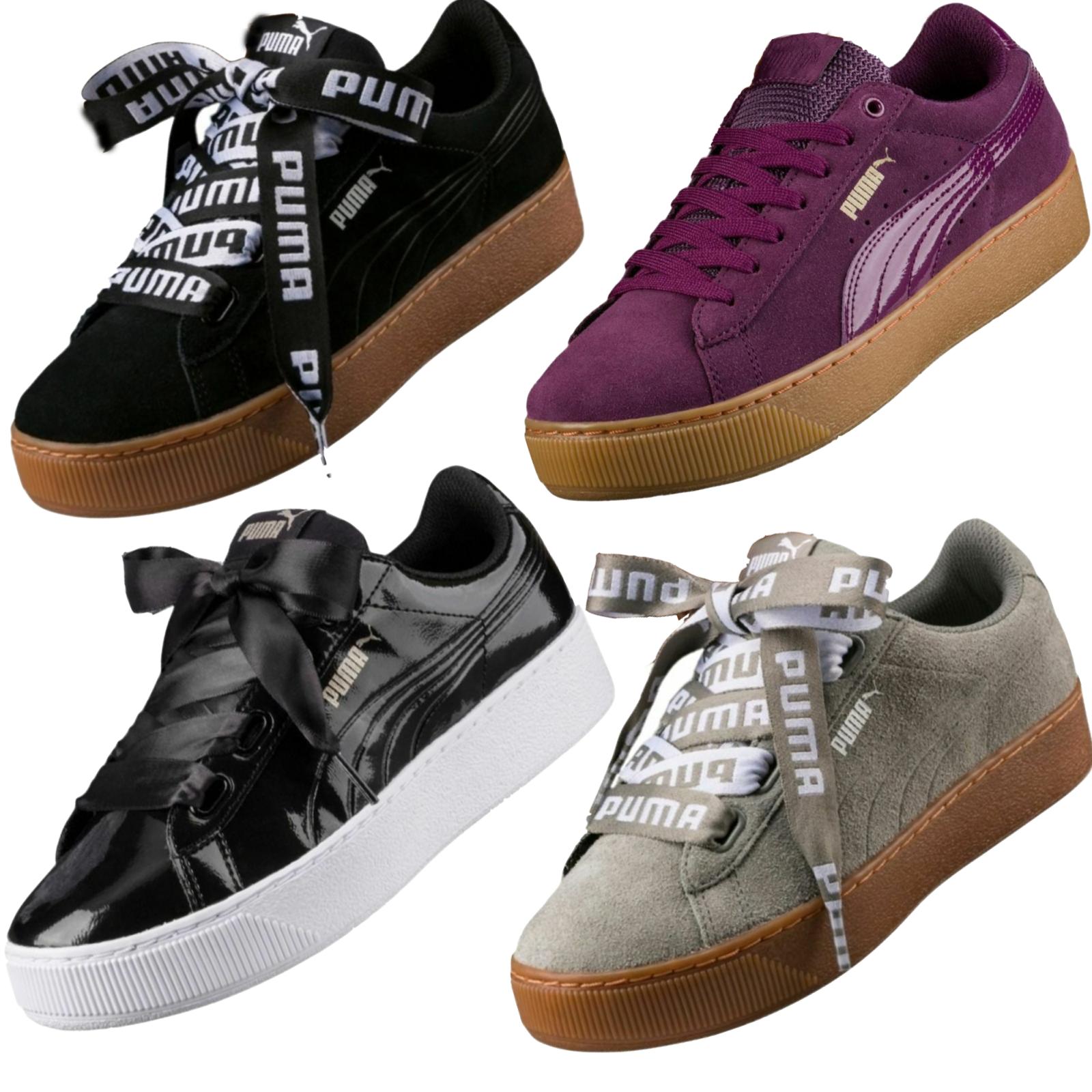 Puma vikky Platform cortos señora señora señora zapatillas calzado deportivo New top premium  barato