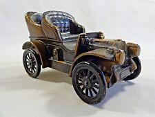 Vintage 1974 Banthrico CAR BANK 1906 Oldsmobile Buggy Brass Metal