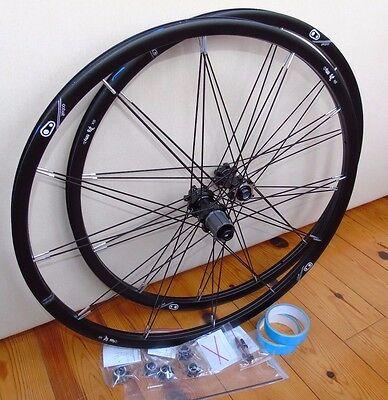 "Nos Crank Brothers Cobalt 1 Wheelset, 27.5"", Blk/Silver, 15/12x142mm, 10 Spd,New"