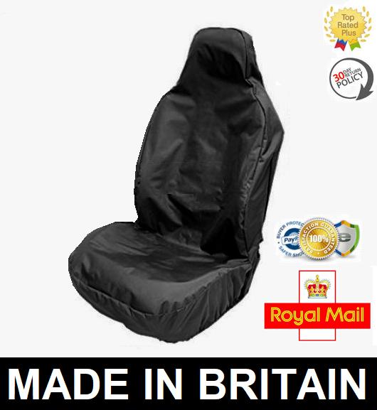 Swell Plain Black Car Seat Cover Protector X1 Heavy Duty Waterproof Audi A3 Sline Spiritservingveterans Wood Chair Design Ideas Spiritservingveteransorg