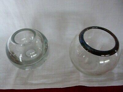 Konstruktiv Blumenvasen - Glas - 2 Stück - Kugelform - Ideal Für Tulpen Erfrischend Und Wohltuend FüR Die Augen