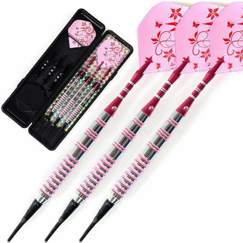 Tip Darts 17g With Pink Dart Flight Dart Shaft Darts Set F6T0 For Women