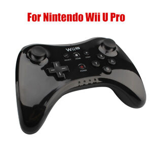 Fits-For-Nintendo-Wii-U-Pro-Controller-Gamepad-Joystick-BLACK