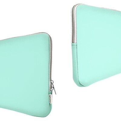"""HOT BLUE Zipper Sleeve Bag Cover for All Macbook Air 11"""" A1370 and A1465"""