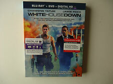 White House Down (Blu-ray/DVD, 2013, 2-Disc Set) NEW Target w/slipcover