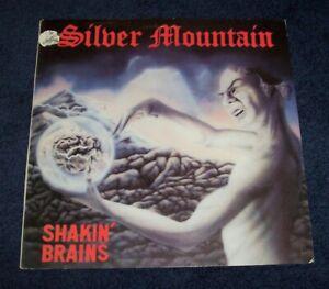 SILVER MOUNTAIN -Shakin' Brains LP NWOBHM glory bell's band Roadrunner 1983 RARE