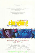 CHUNG KING EXPRESS MOVIE POSTER 27x40 Kar Wai's Chong qing sen lin Brigitte Linl