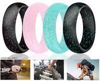 Ring Wedding Women Band Silicone Sport Gym Engagement Safe Travel Fashion Gift 4