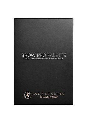 Anastasia Beverly Hills Brow Pro Palette, Eyebrow Tint, Full Size, Cruelty-free.