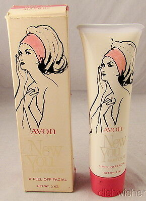 Acne & Blemish Treatments Steady Avon New You Masque A Peel Off Facial 2 Oz Vintage New Nib Box Is Worn X Paper The Latest Fashion Health & Beauty